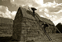 Thatching the stack
